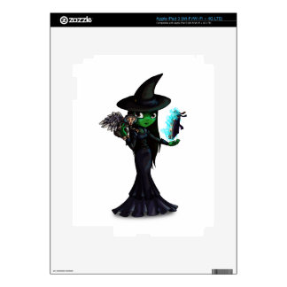 Wicked Witch Decal For iPad 3