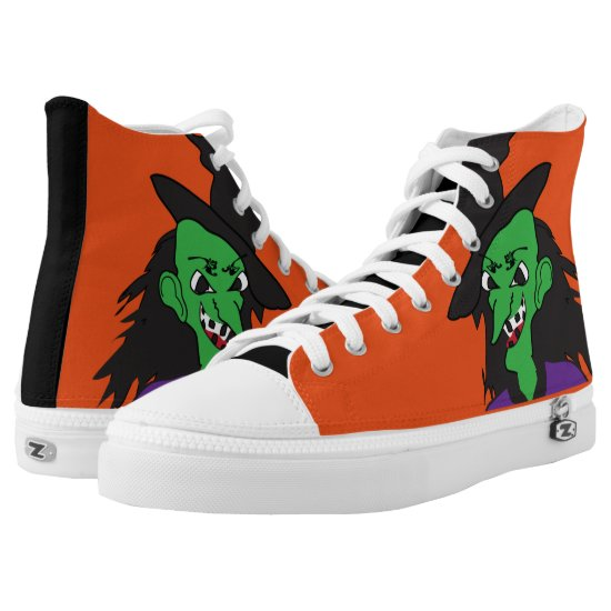 Wicked Witch High-Top Sneakers