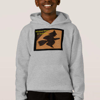 Wicked Witch in Training Fashion by Janz Hoodie