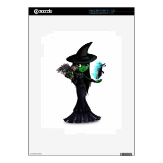 Wicked Witch iPad 2 Decals