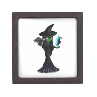 Wicked Witch Jewelry Box