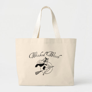 Wicked Witch Jumbo Tote Bag