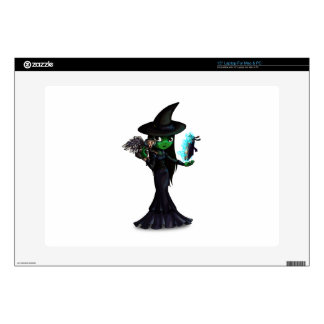 Wicked Witch Laptop Decal