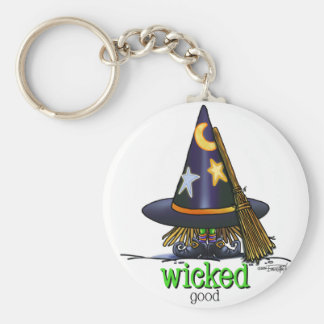 Wicked Witch of Good Basic Round Button Keychain