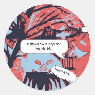 Wicked Witch of Halloween 2 Round Sticker