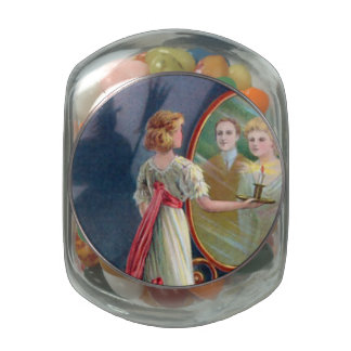 Wicked Witch on Halloween Jelly Belly Candy Jars