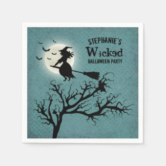Wicked Witch Paper Napkin