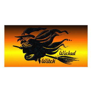 Wicked Witch Photo Card