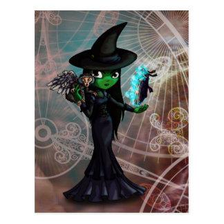 Wicked Witch Postcard