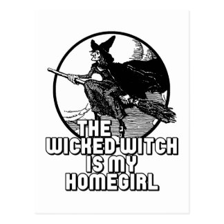 Wicked Witch Postcard