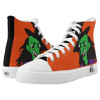 Wicked Witch Printed Shoes