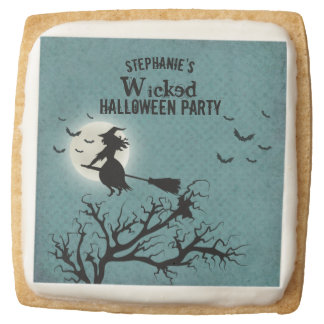 Wicked Witch Square Shortbread Cookie