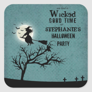 Wicked Witch Square Sticker