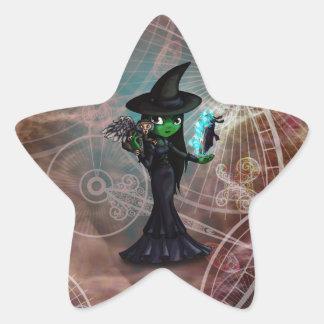 Wicked Witch Star Sticker
