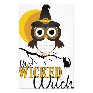 Wicked Witch Stationery