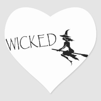 Wicked Witch Heart Sticker