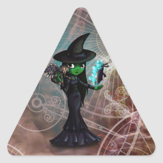 Wicked Witch Triangle Sticker