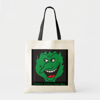 Wicked Witch Trick or Treat Bag Canvas Bag