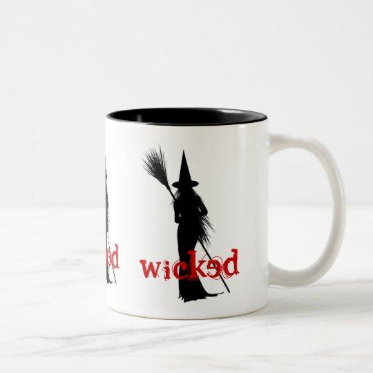 Wicked Witch Two-Tone Coffee Mug