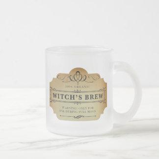 Wicked Witch's Brew Frosted Glass Coffee Mug