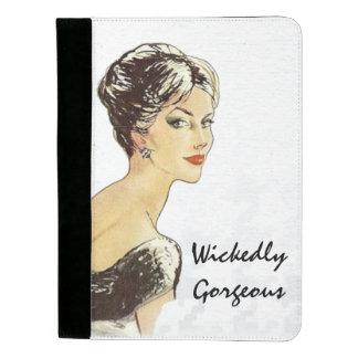 """Wickedly Gorgeous"" Fashion Image Padfolio"