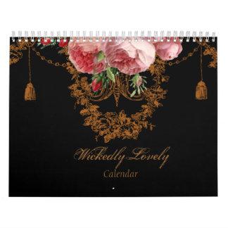 WickedlyLovely Calendario De Pared