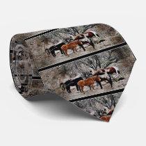 Wickenburg Horses Men's Tie