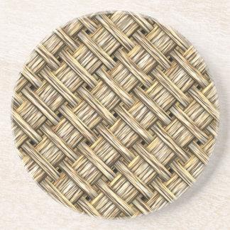 Wicker Basket Coasters