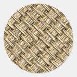 Wicker Basket Sticker