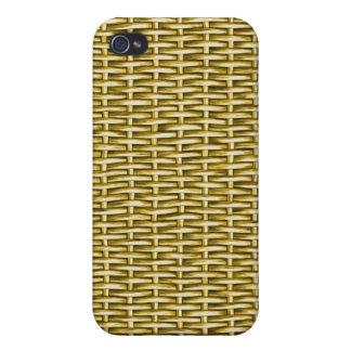Wicker Basket Textured iPhone 4/4S Case