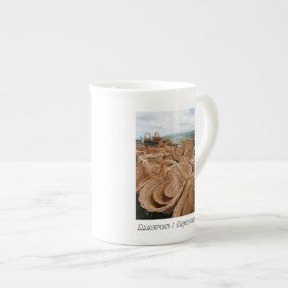 Wicker baskets tea cup