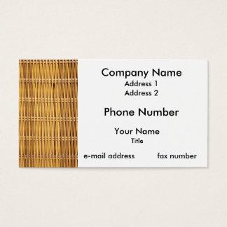 Wicker Business Card
