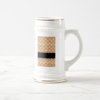 Wicker Chain pattern by Valxart.com Beer Stein
