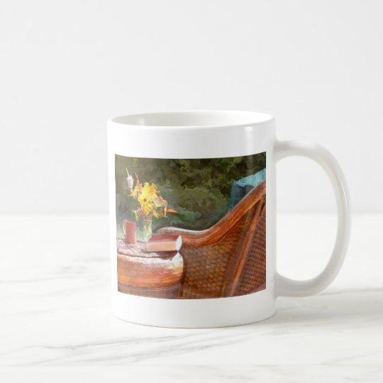 Wicker, Coffee & a Good Book Coffee Mug