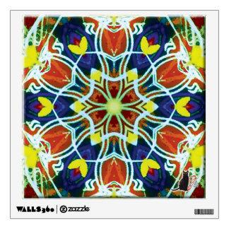 Wicker Kaleidoscope Wall Decal