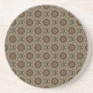 Wicker Star Pattern Coaster