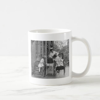 Wicker Wheelchairs, 1920s Coffee Mug