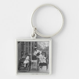 Wicker Wheelchairs, 1920s Keychain