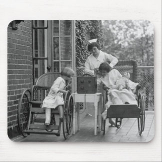 Wicker Wheelchairs, 1920s Mouse Pad
