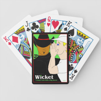 Wicket: Deal Me In! Bicycle Playing Cards