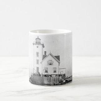 Wickford Harbor Lighthouse Coffee Mug