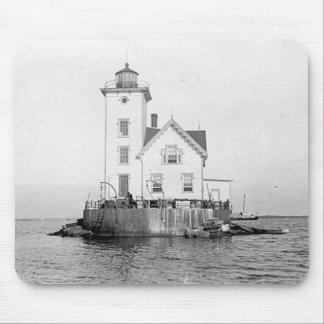 Wickford Harbor Lighthouse Mouse Pad