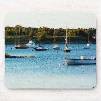Wickford Harbor Rhode Island mousepad