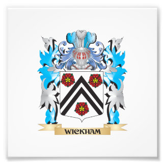 Wickham Coat of Arms - Family Crest Photo