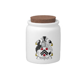 Wickham Family Crest Candy Jars