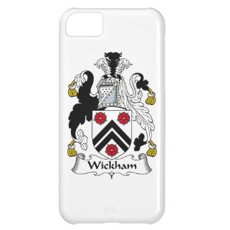 Wickham Family Crest Cover For iPhone 5C