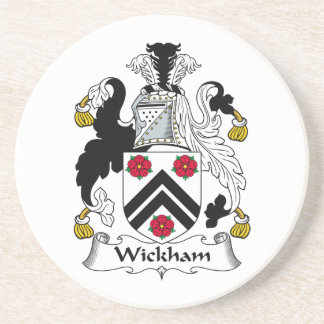 Wickham Family Crest Drink Coasters