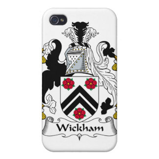 Wickham Family Crest iPhone 4 Covers