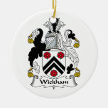 Wickham Family Crest Ornaments