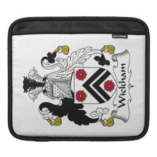Wickham Family Crest Sleeves For iPads